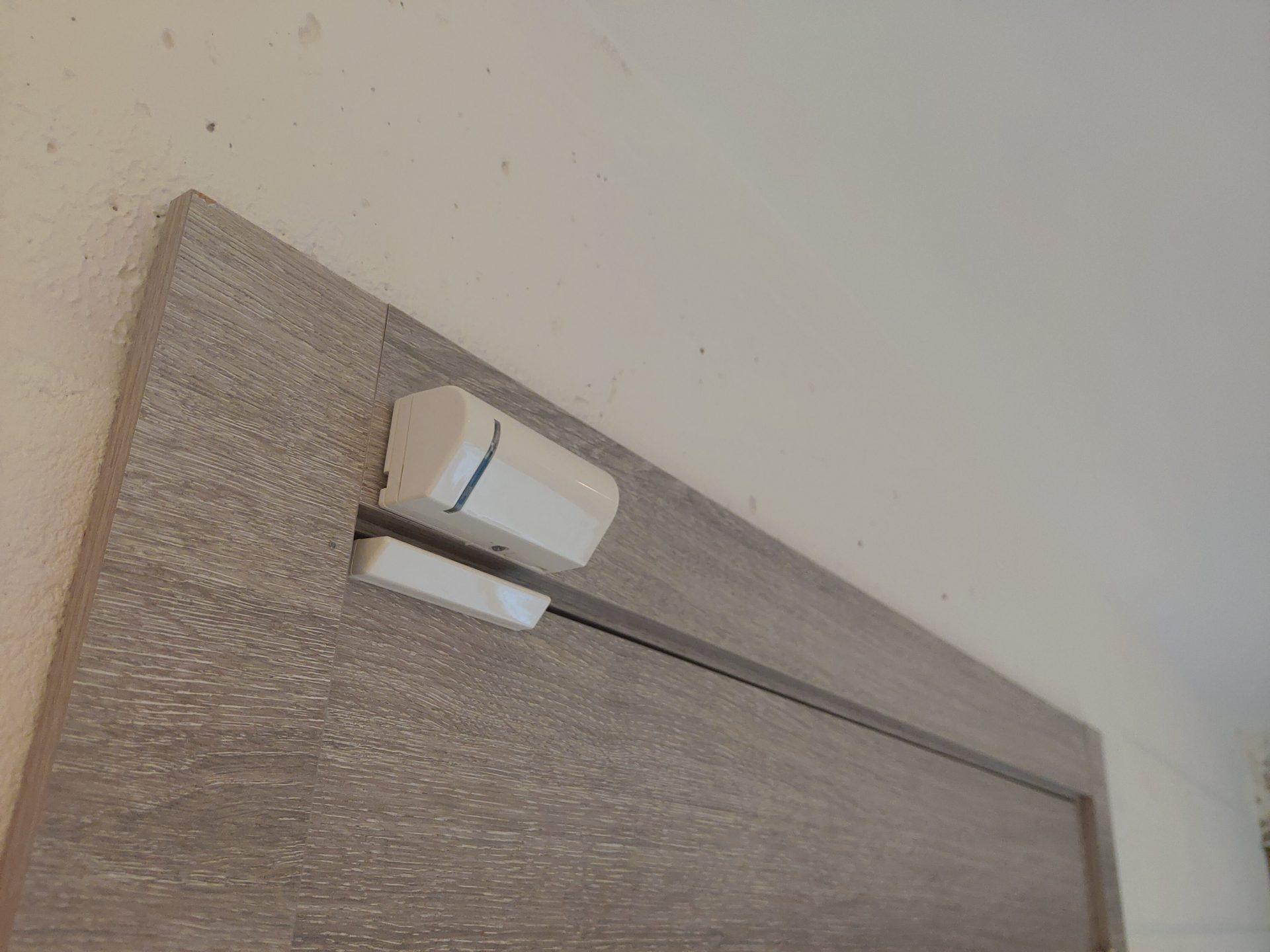 Alarme plus contact magnetique sans fil risco
