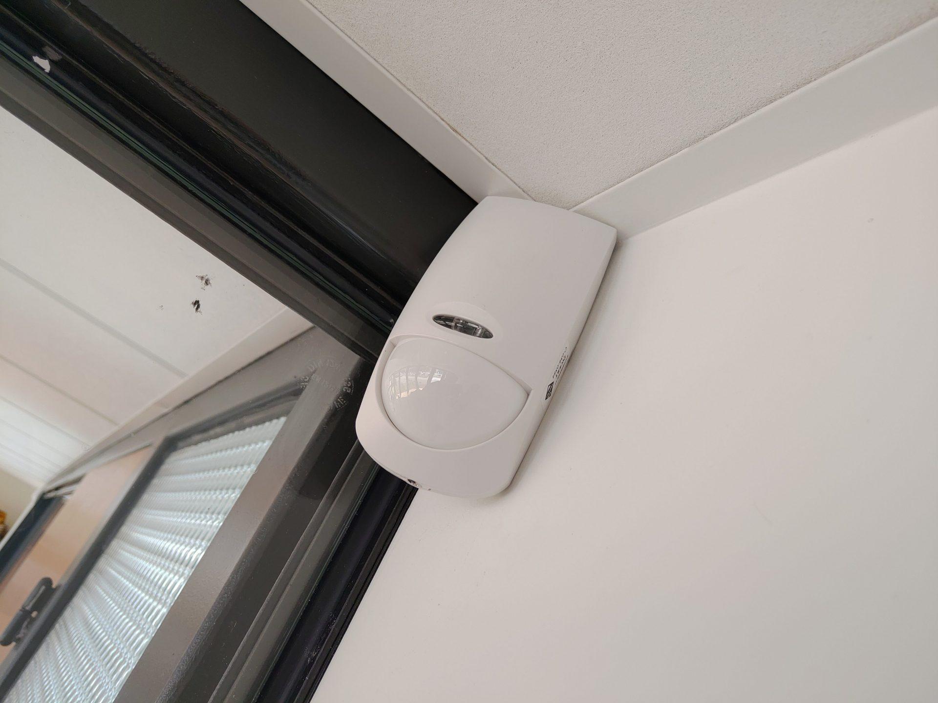 Alarme plus détecteur de mouvement double technologie