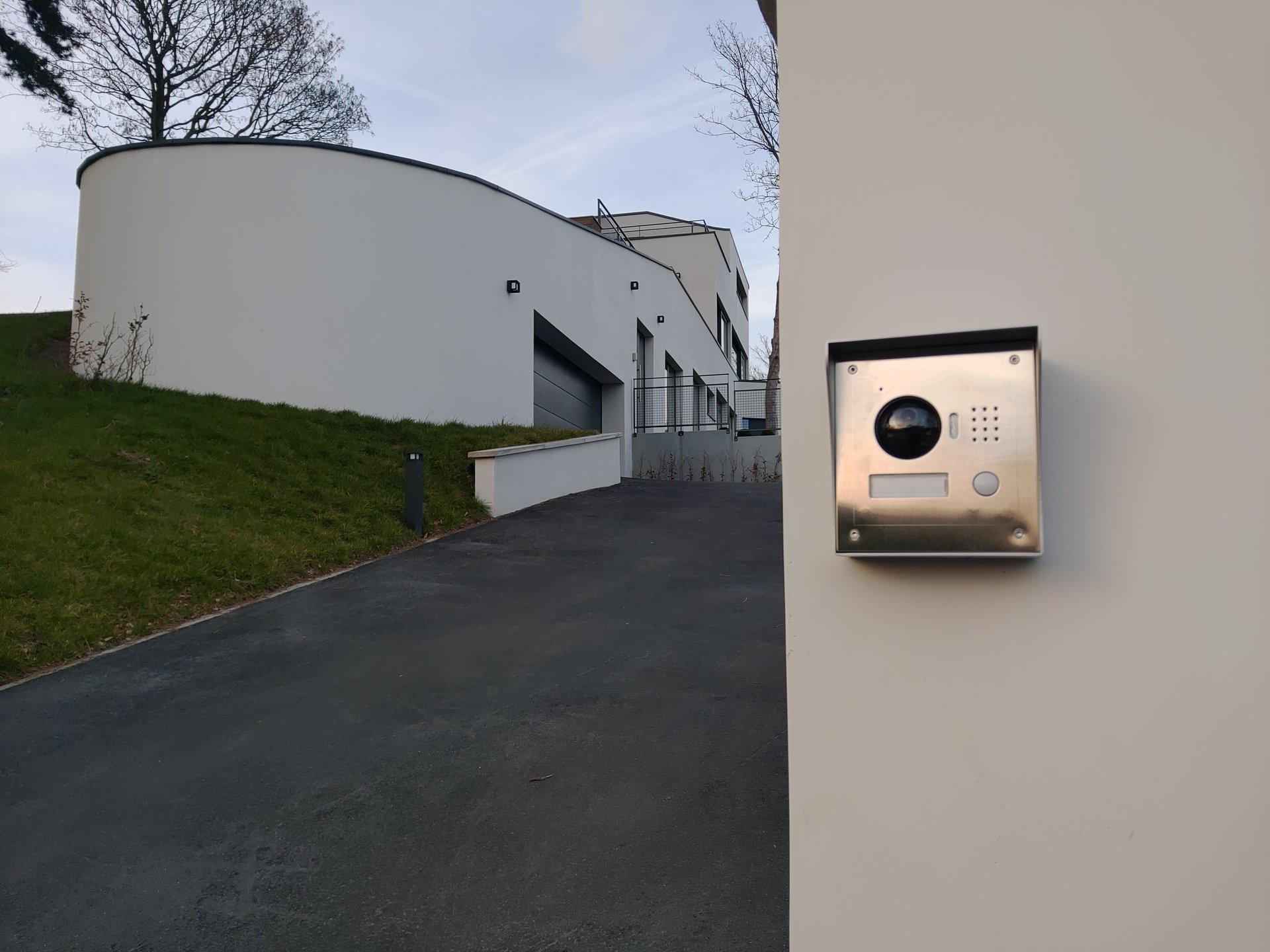 alarme plus controle acces portier vidéo extérieur liege belgique